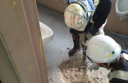 工事中の写真