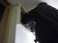 エアコン電源増設工事